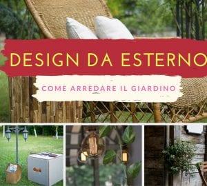 design d'esterno