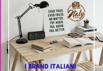 brand italiani lampade da tavolo