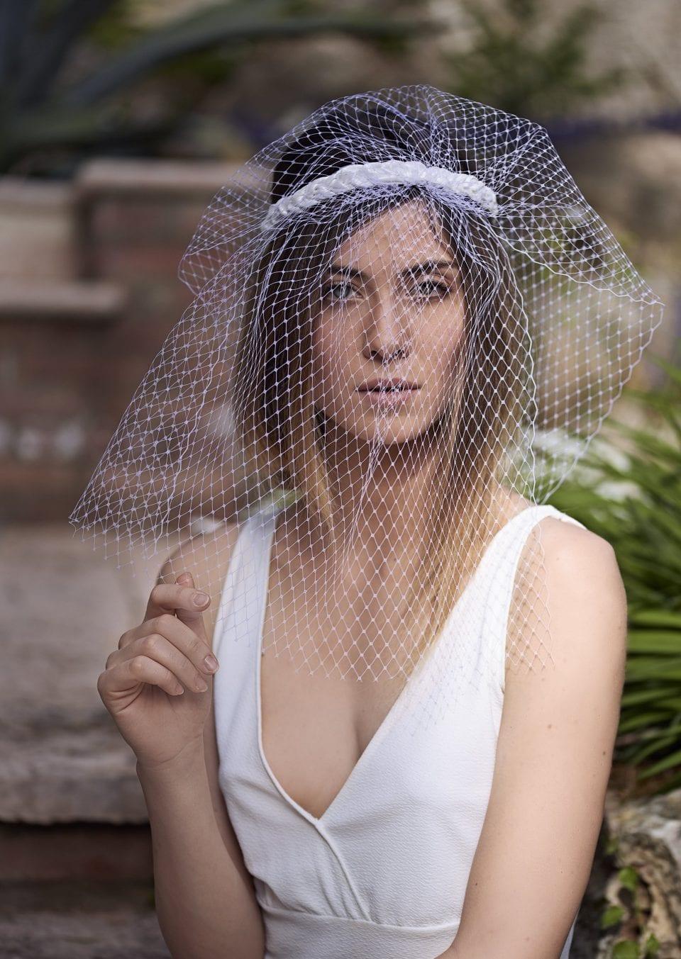velo made in italy per sposa