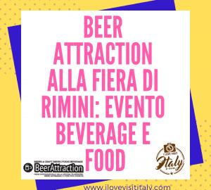 dove si trova beer attraction