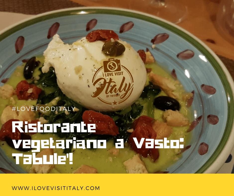 recensione Tabulè ristorante vegetariano a Vasto