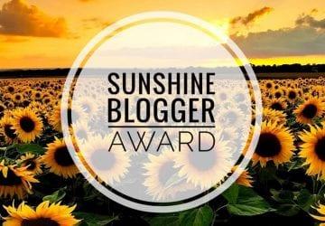 blogger sunshine award