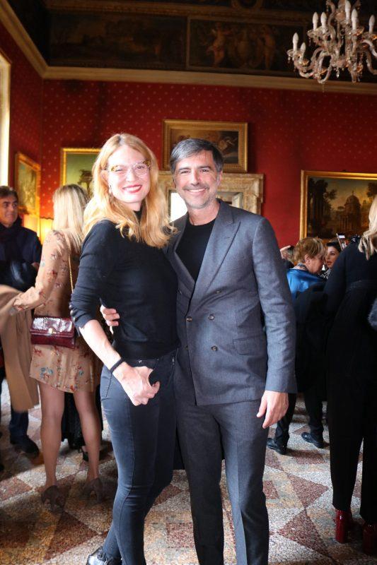 Jane Alexander e Beppe Convertini ALTAROMA 2020