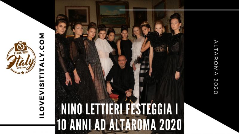 nino lettieri festeggia i suoi 10 anni altaroma 2020