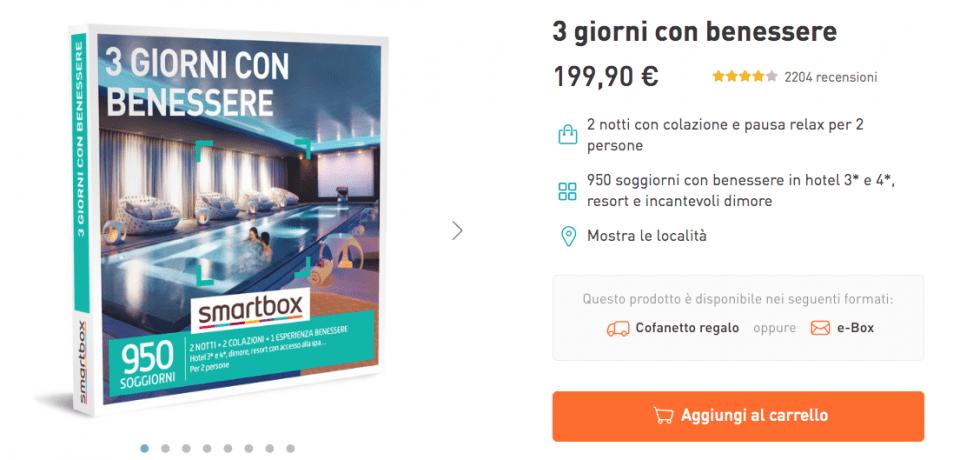 idee regalo benessere in italia