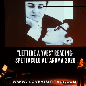 lettere a yves altaroma 2020