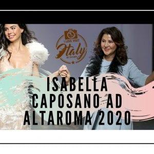 isabella caposano altaroma 2020
